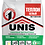 Thumbnail: Гипсовая штукатурка UNIS Теплон белый для выравнивания стен и потолков