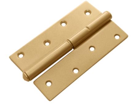 Петля ПН-120 золото левая (Балаково) DOMART,  25251