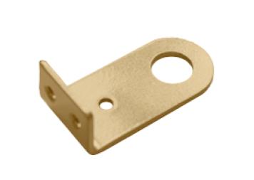 Проушина 30*80 угловая золото (Балаково) DOMART,    54879