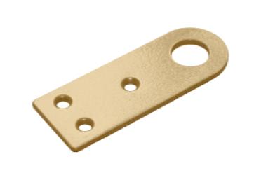 Проушина 30*80 прямая золото (Балаково) DOMART, 54941