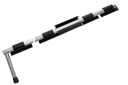 Засов ДОБРЫНЯ 1000мм мод.2 черный (Балаково) DOMART,  11598334 | Мaxim-stroy