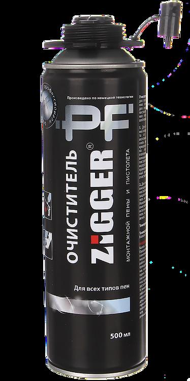 Очиститель монтажной пены ZIGGER PF, 650 мл