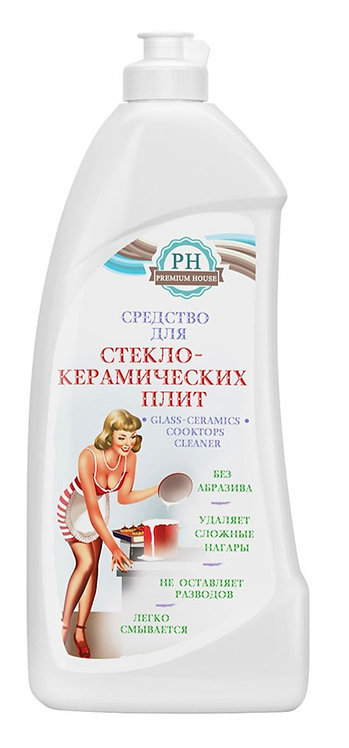 Средство для чистки стеклокерамических плит Premium House,  0,5