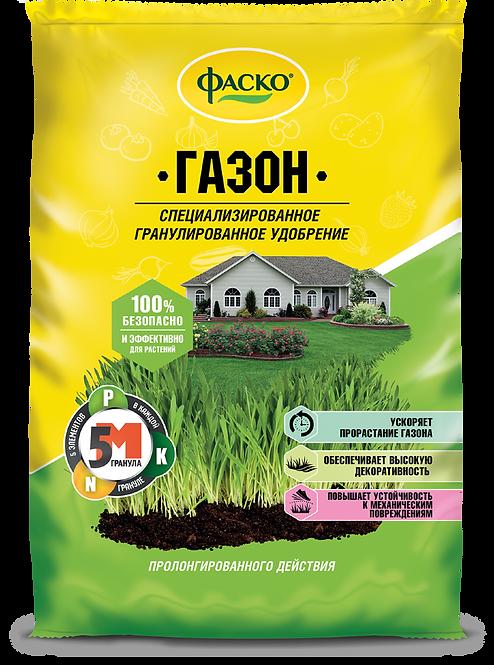 Удобрение минеральное 5М-гранула для газона ФАСКО®, 3 кг 11594306