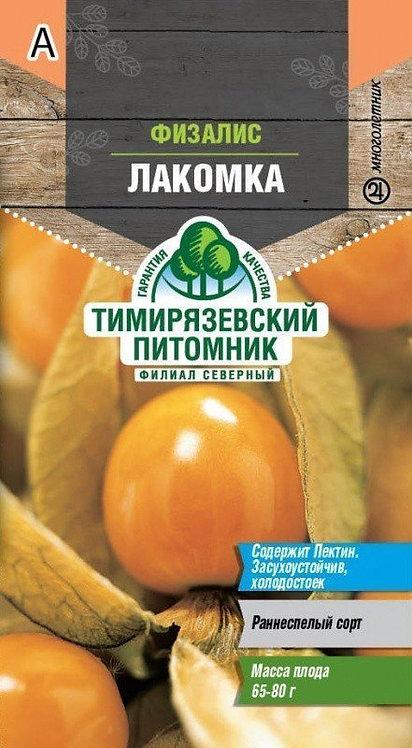 Семена Тимирязевский питомник Физалис Лакомка 0,2г 11604158