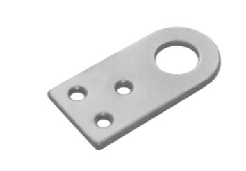 Проушина 35*70 прямая серый металлик (Балаково) DOMART,  53297
