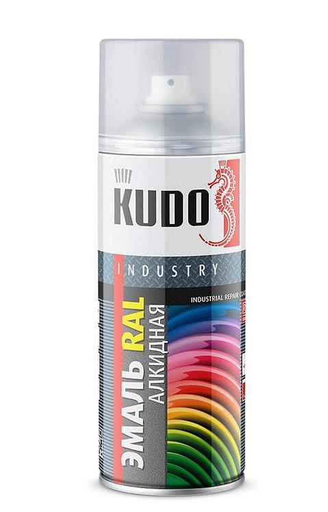 Эмаль KUDO универсальная алкидная INDUSTRY RAL, 520 мл