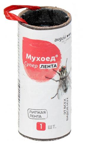 Ловушка клеевая для отлова мух Мухоед AVGUST 11587612