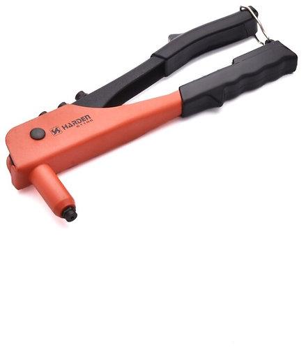 Заклепочник профессиональный стальной 257мм для заклепок 2,4-4,0мм HARDEN 610106