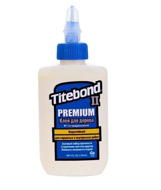 Клей TITEBOND II Premium для столярных работ водостойкий 118мл, 11595819