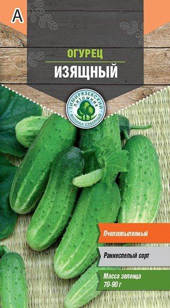 Семена Тимирязевский питомник огурец Изящный  0,3г 11604135