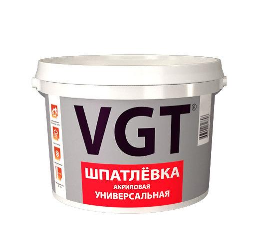 Шпатлевка VGT акриловая универсальная для наружных и внутренних работ