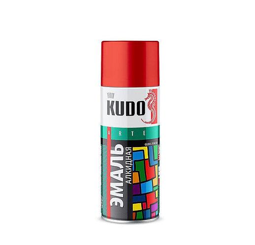 Эмаль KUDO алкидная  универсальная 3P TECHNOLOGY RAL, 520 мл