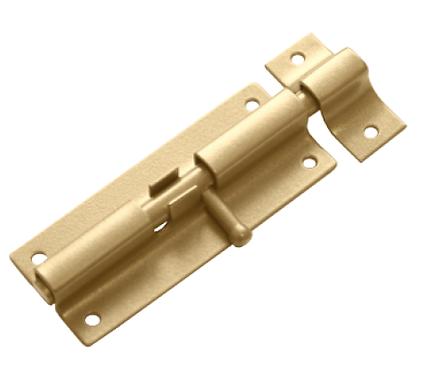 Шпингалет ШП-80 золото (Балаково) DOMART,     54857