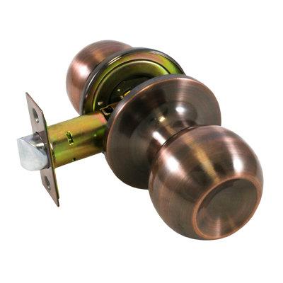 Ручка-защелка дверная СТАНДАРТ 607 PS AC медь