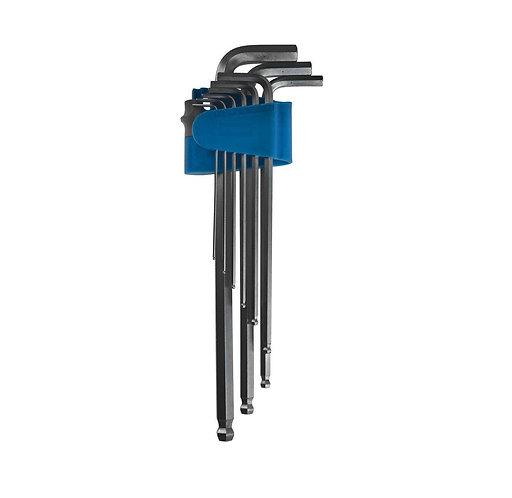 Ключи имбусовые с шаром  Профи  888, Н1.5 -Н10 - 9 штук в наборе