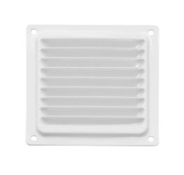 Решетка вентиляционная металлическая 100х100 белый(Балаково) DOMART,  11593708