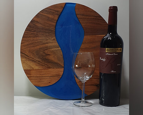 Round Resin Serving Stand