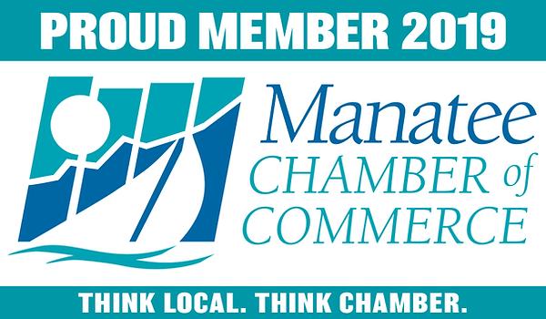 Manatee Chamber of Commerce - Proud Member 2019