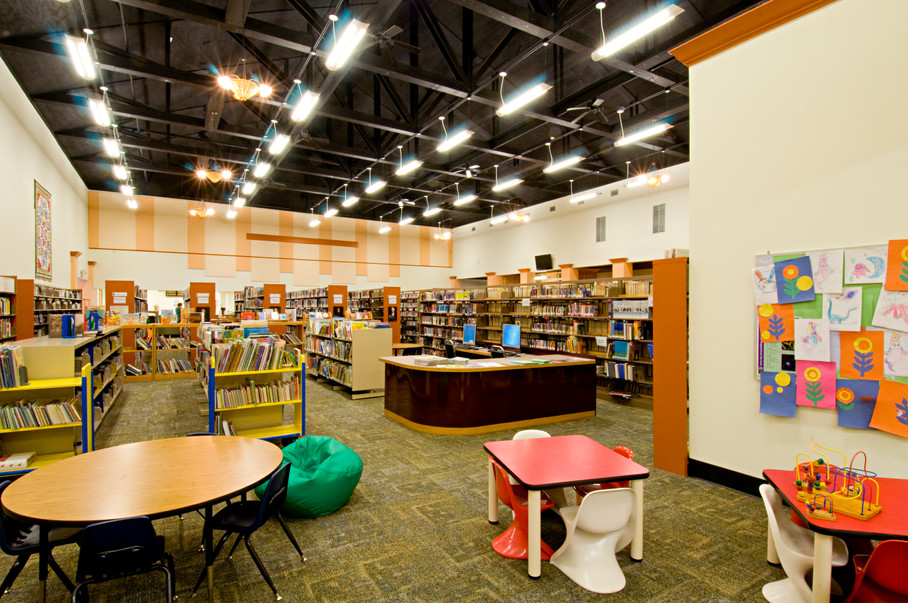 Rocky Bluff Library - Interior View