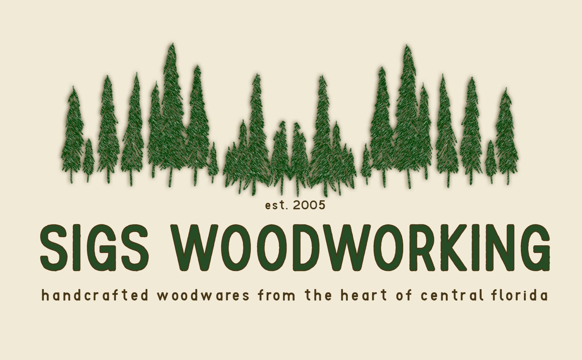 Sigs Woodworking - New Business Branding