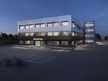 Sköld Forsberg projekterar ny Livsmedelsindustri – Mycorena etablerar sig i Falkenberg