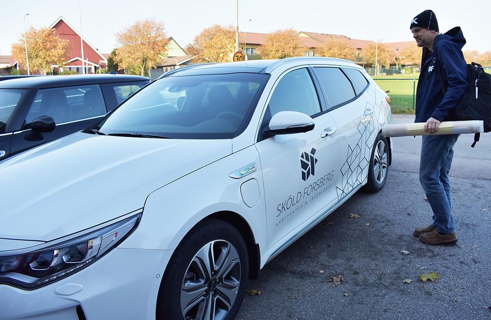 Sköld Forsberg Byggkonsult KIA Hybrid