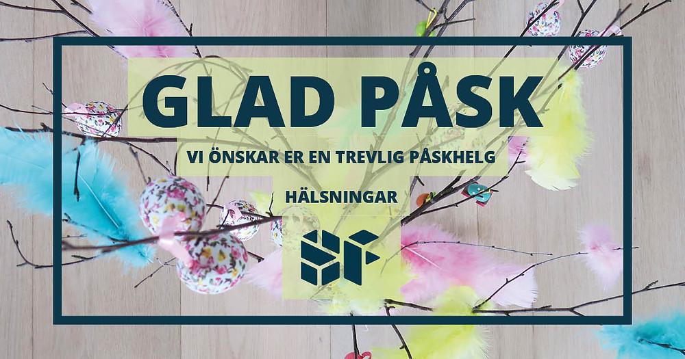 Glad Påsk 2019 Sköld Forsberg