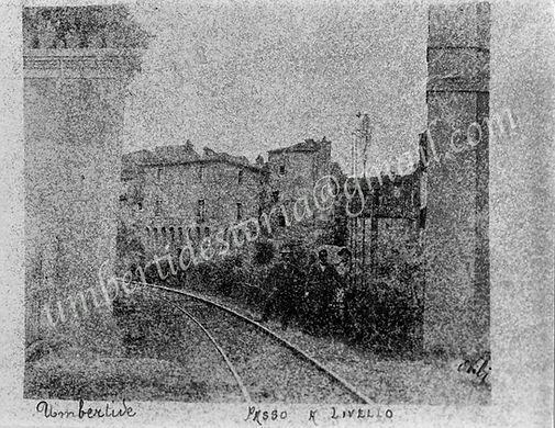 PASSAGGIO A LIVELLO - 1901Storiche archi
