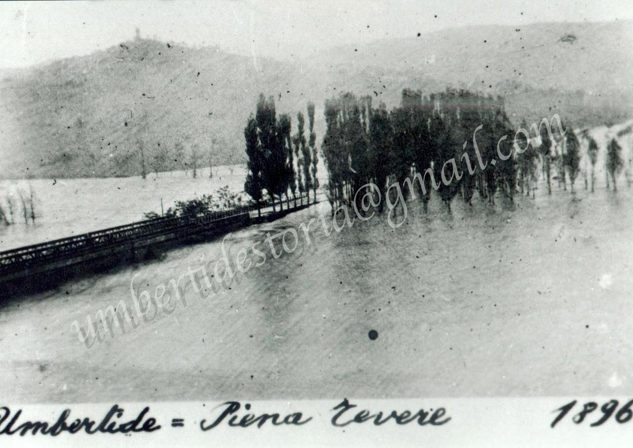 LA PIENA DEL TEVERE - 8 NOVEMBRE 1896