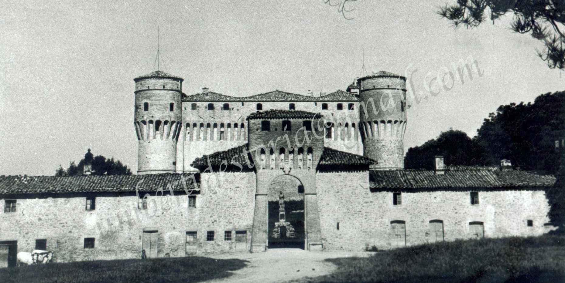 CASTELLO DI CIVITELLA RANIERI - 1917Stor
