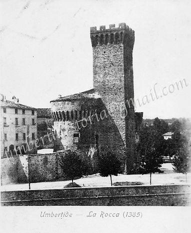 ROCCA COPERTA - 1910Storiche archivio Be