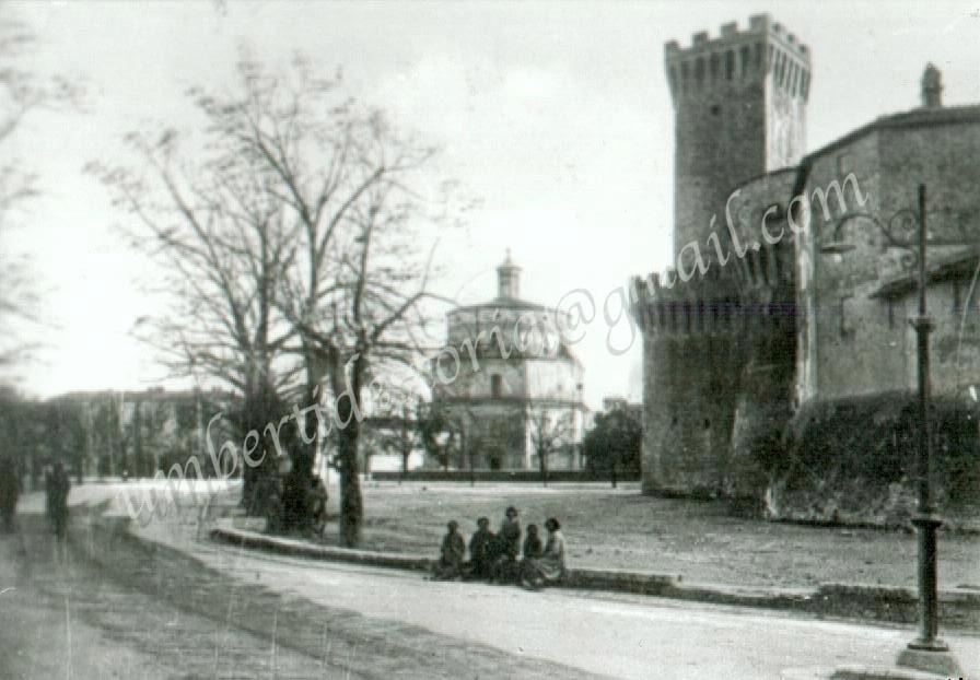 ROCCA E COLLEGIATA - 1940Storiche archiv