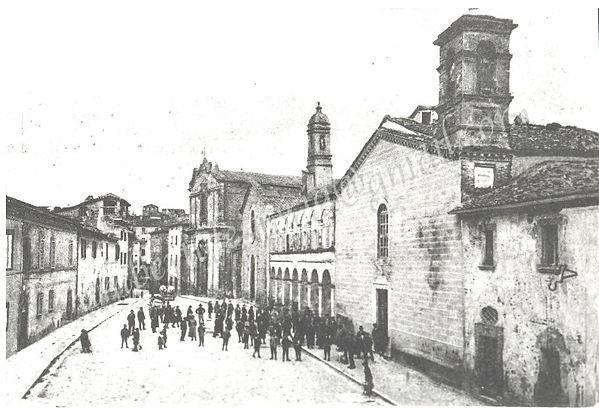 PIAZZA XII SETTEMBRE - 1910 Storiche arch