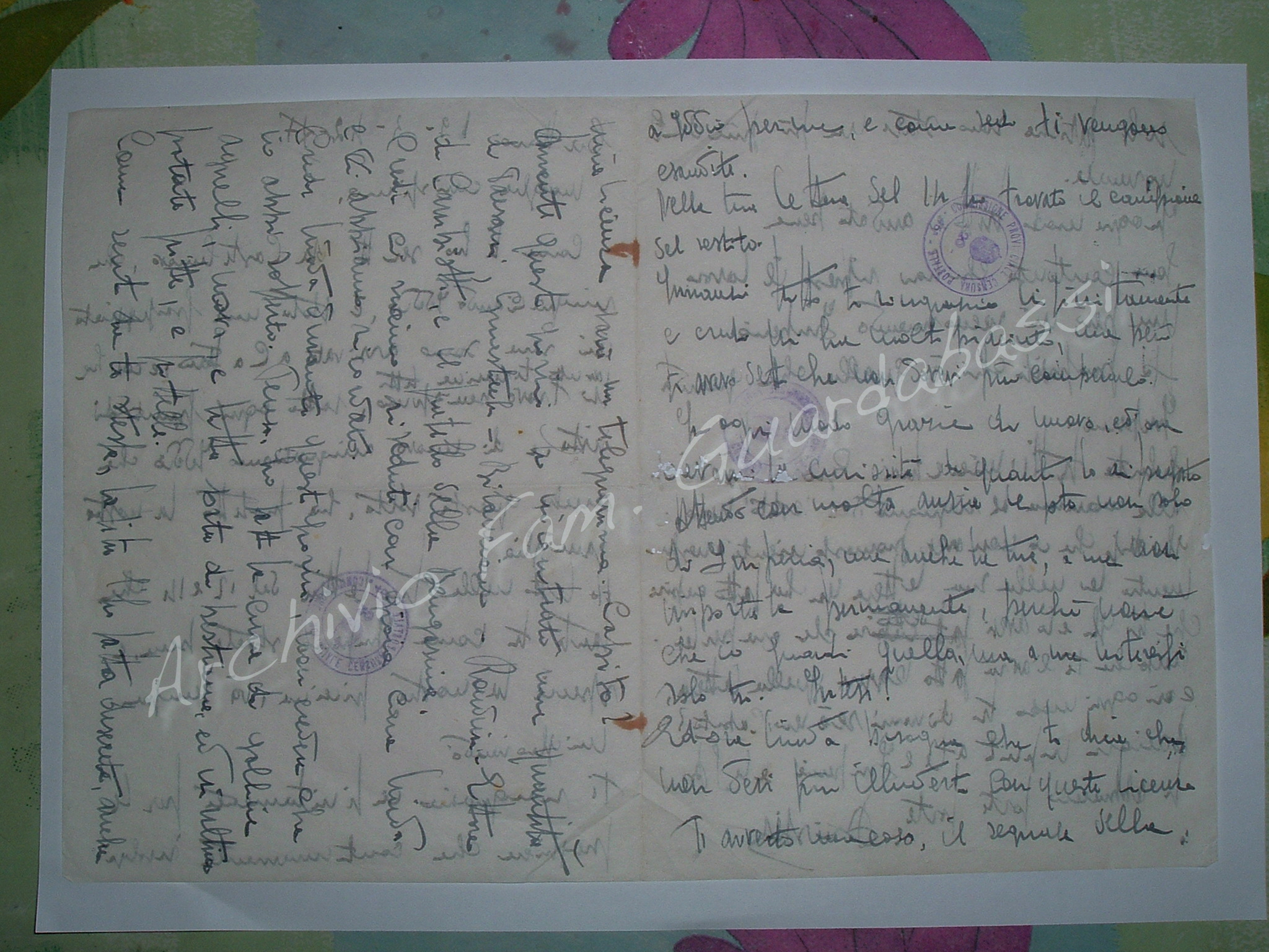 Lettera di esempio