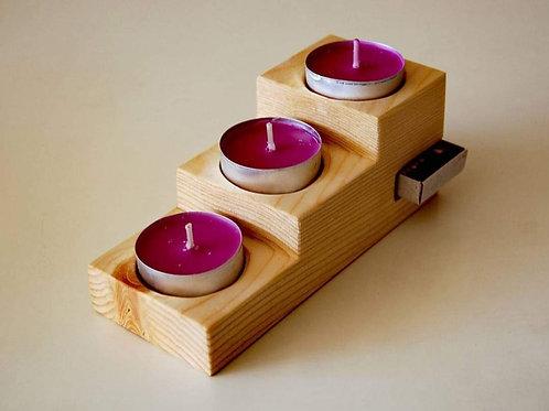 Wooden T light