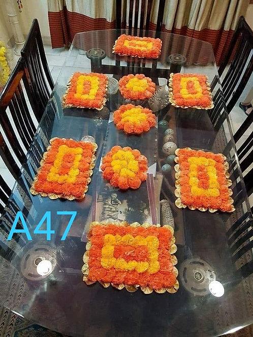 A47 Diwali and Celebration mats