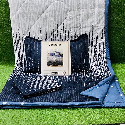BEDSHEET, Pillow and COMFORTER SET