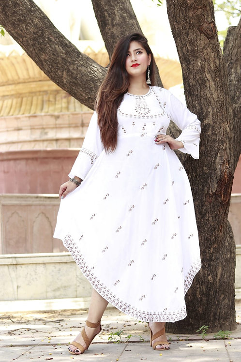Kurti Gown style