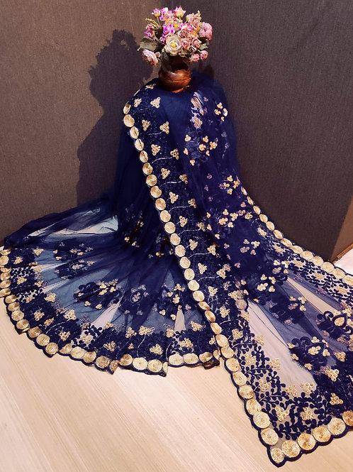 Net saree with New Exclusive designer