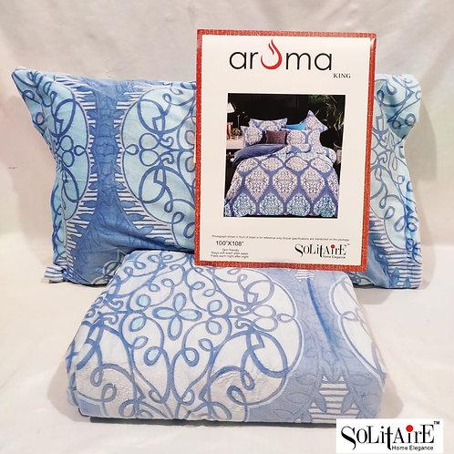AROMA warm bedsheet king sized