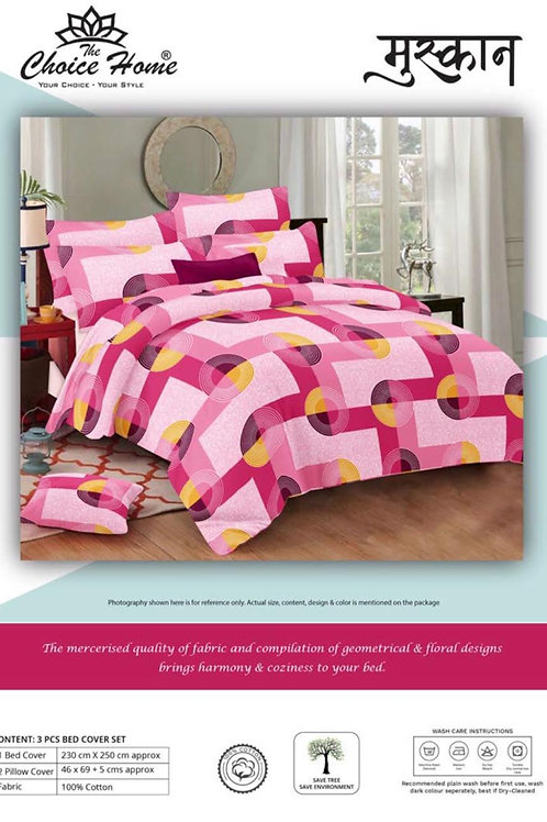 100% Cotton 3pcs Bedsheet Set