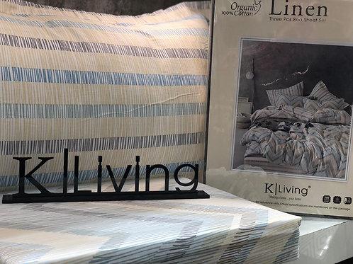 100 % organic cotton bedsheet
