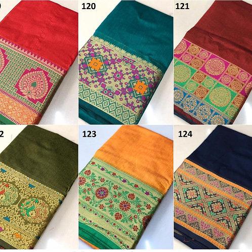 Marvel sarees