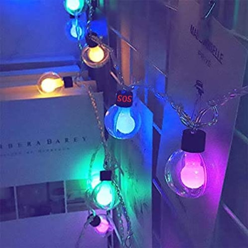 Double Ball String Lights 10 led ball