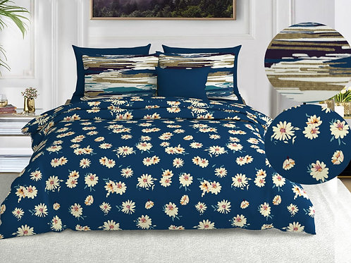 Cotton King size coordinate bedsheet set