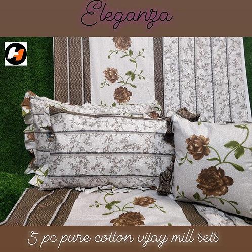 ELEGANZA 5 Piece bedsheet Set