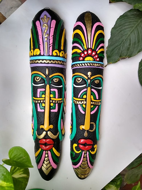 Tribal Masks (pair)