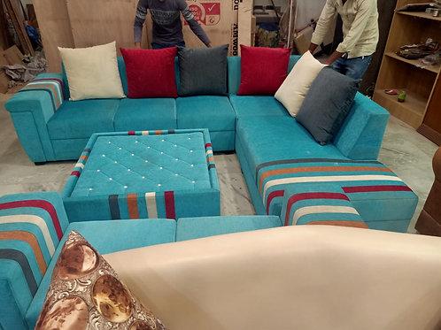 Peacock color Sofa