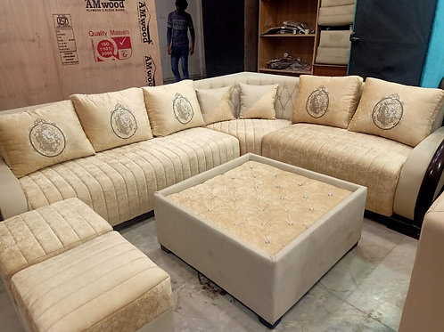 Beige Color Sofa